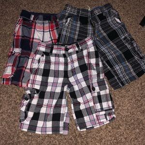 3 pairs of boy short. In good condition